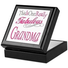 Fabulous Grandma Keepsake Box
