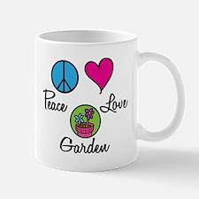 Peace Love Garden Mug