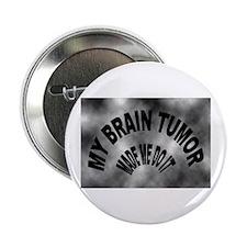 """Cute Brain tumor 2.25"""" Button"""