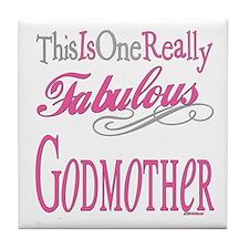 Fabulous Godmother Tile Coaster