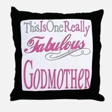 Fabulous Godmother Throw Pillow