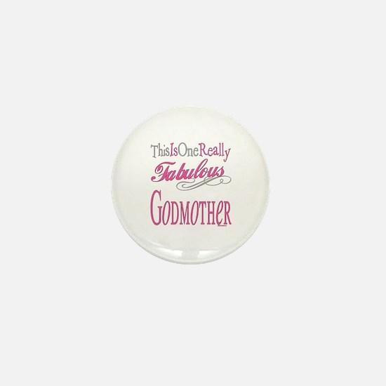 Fabulous Godmother Mini Button