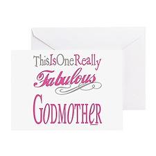 Fabulous Godmother Greeting Card
