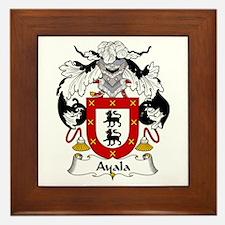 Ayala Framed Tile