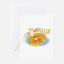 A Waffle Lot Greeting Cards