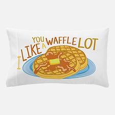 A Waffle Lot Pillow Case