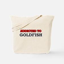 Addicted to Goldfish Tote Bag