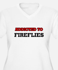 Addicted to Fireflies Plus Size T-Shirt