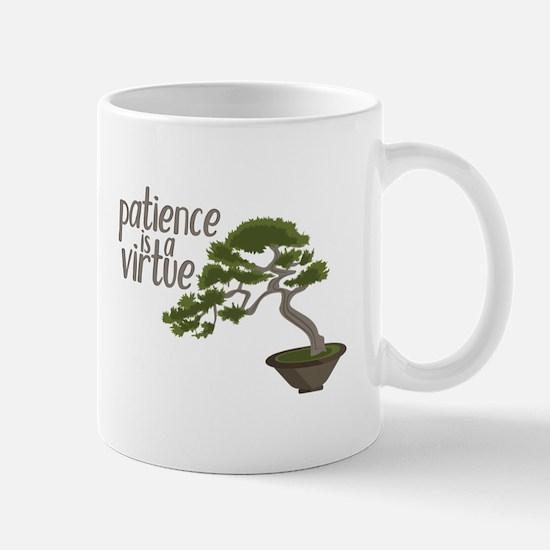 Patience Is Virtue Mugs
