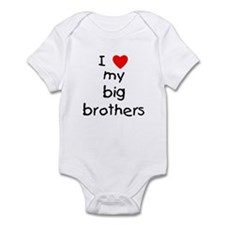 I love big brothers Infant Bodysuit