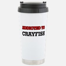 Addicted to Crayfish Travel Mug