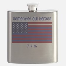 Remember our heroes. Flask