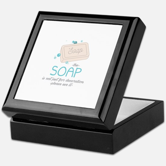 The Soap Keepsake Box