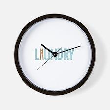 Laundry Clothespin Wall Clock
