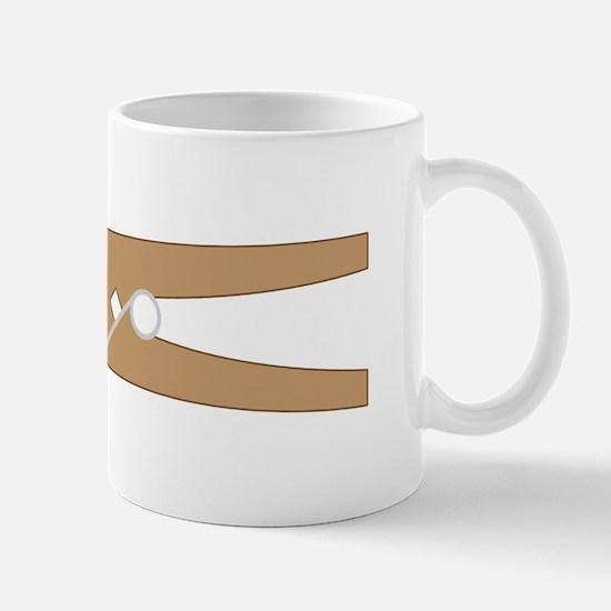 Clothespin Mugs