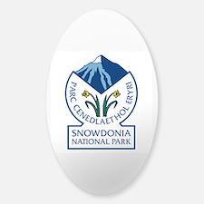 Snowdonia National Park, Wales, UK Sticker (Oval)