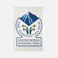 Snowdonia National Park, Wales, U Rectangle Magnet