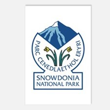 Snowdonia National Park, Postcards (Package of 8)