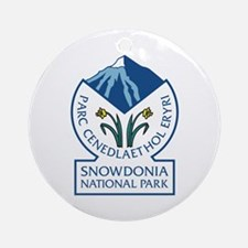 Snowdonia National Park, Wales, UK Round Ornament