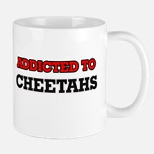 Addicted to Cheetahs Mugs