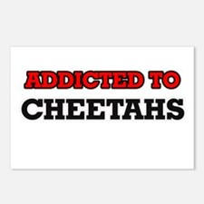 Addicted to Cheetahs Postcards (Package of 8)