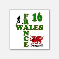 Wales France Dragons 16 Sticker