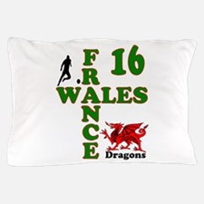 Wales France Dragons 16 Pillow Case