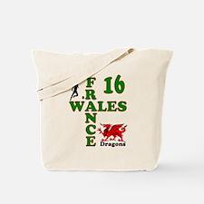 Wales France Dragons 16 Tote Bag