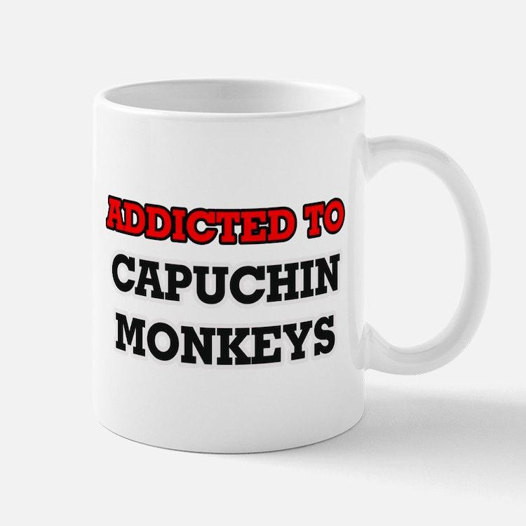 Addicted to Capuchin Monkeys Mugs