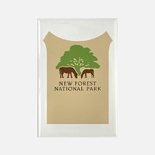 New Forest National Park, UK Rectangle Magnet