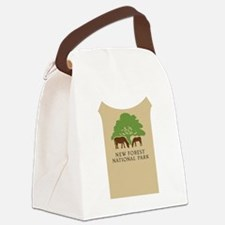 New Forest National Park, UK Canvas Lunch Bag