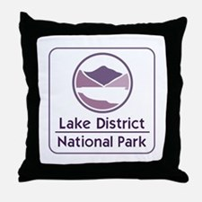 Lake District National Park, UK Throw Pillow