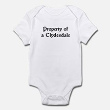 Property of a Clydesdale Infant Bodysuit