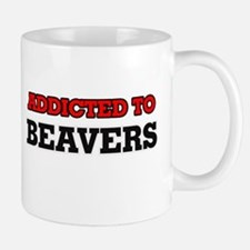 Addicted to Beavers Mugs