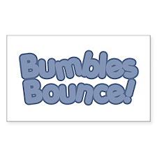 Bumbles Bounce! Rectangle Decal