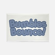 Bumbles Bounce! Rectangle Magnet