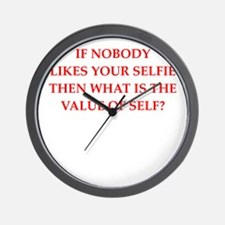 self Wall Clock