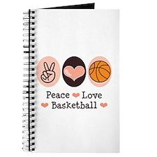 Peace Love Basketball Journal