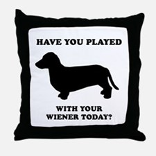 Have you played with your wiener today? Throw Pill