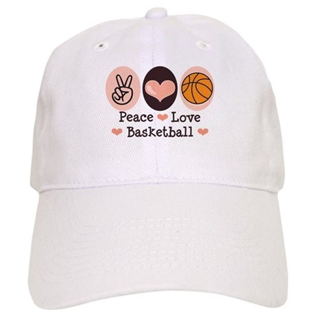 Peace Love Basketball Cap