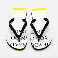 reading joke Flip Flops