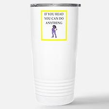 reading joke Travel Mug
