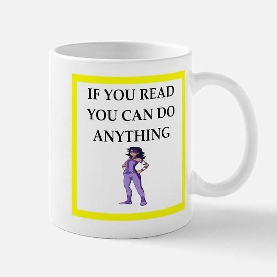 reading joke Mugs