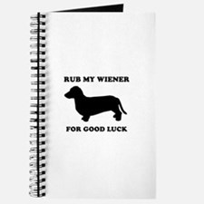 Rub my wiener for good luck Journal