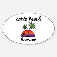 Cable Beach Broome Australia Decal