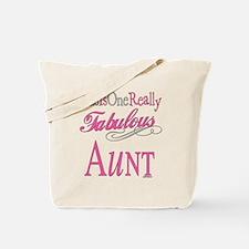 Fabulous Aunt Tote Bag