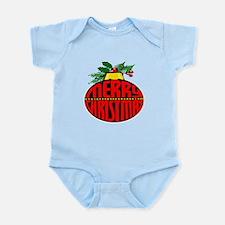 Merry Christmas Orn Infant Bodysuit