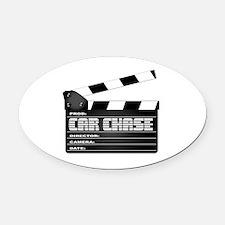 Unique Film camera Oval Car Magnet