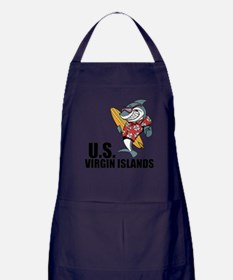 U.S. Virgin Islands Apron (dark)