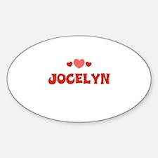 Jocelyn Oval Decal
